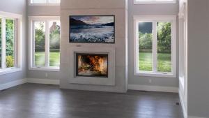 Concrete Fireplace Mantel